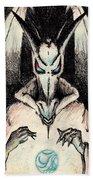 Dragon Sorceror Beach Towel