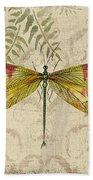 Dragonfly Daydreams-a Beach Towel