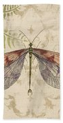 Dragonfly Daydreams-d Beach Towel