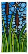 Dragonfly Pond By Sharon Cummings Beach Towel