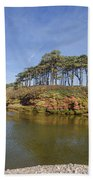 Dragons Back Budleigh Salterton Beach Towel