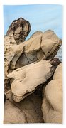 Dragon's Teeth Closeup Beach Towel
