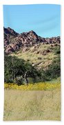 Dragoon Mountains Beach Towel