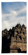 Dramatic Ancient Borobudur  Beach Towel