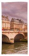 Dramatic Parisian Sky Beach Towel