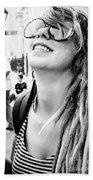 Dreadfully Happy In Nola Beach Towel