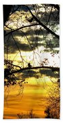 Dream At Dusk Beach Towel