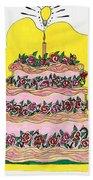 Dream Cake Beach Towel