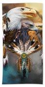 Dream Catcher - Three Eagles Beach Towel