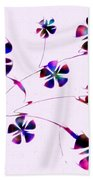 Dream Flowers Beach Towel