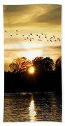 Dream Of A Sunset Beach Sheet