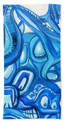 Dreaming In Blue Beach Towel