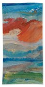 Dreaming Color Beach Towel
