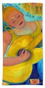 Dreaming Of San Miguel Beach Sheet