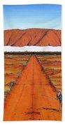 Dreamtime Australia Beach Towel