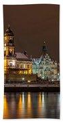 Dresden The Capital Of Saxony I Beach Towel