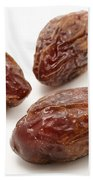 Dried Medjool Dates Beach Towel