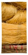 Dried Rice Noodles 04 Beach Towel