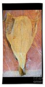Dried Salted Codfish Front Beach Towel