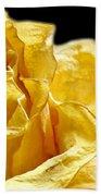 Dried Yellow Rose II Beach Towel