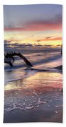Drifter's Dreams Beach Towel by Debra and Dave Vanderlaan