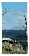 Gnarled Trees And Divide Mountain Beach Towel