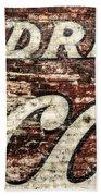 Drink Coca-cola 2 Beach Towel by Scott Norris