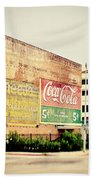 Drink Coca Cola Beach Sheet
