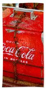 Drink Coke In Bottles Beach Towel