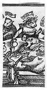 Drinking Party, 1516 Beach Towel