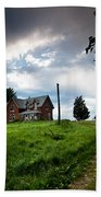 Driveway Home Beach Towel by Cale Best