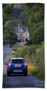 Driving To Manor House Beach Towel