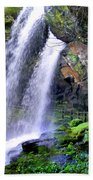 Dry Falls 2 In Western North Carolina Beach Towel