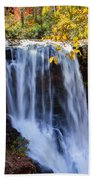 Dry Falls North Carolina Beach Towel