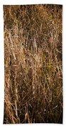 Dry Grass Beach Towel