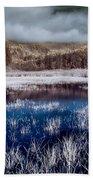 Dry Lagoon Blues Beach Towel