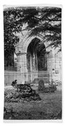 Dryburgh Abbey, 1866 Beach Towel
