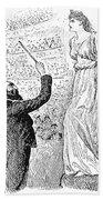 Du Maurier: Trilby, 1894 Beach Towel