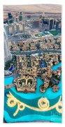 Dubai Downtown - Uae Beach Towel