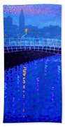 Dublin Starry Nights Beach Towel