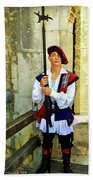 Dubrovnik Guard Beach Sheet
