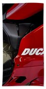 Ducati-unplugged V9 Beach Towel