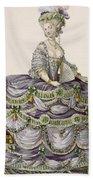 Duchess Evening Gown, Engraved Beach Towel