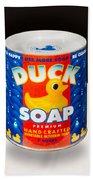 Duck Soap Beach Towel