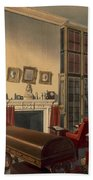 Dukes Own Room, Apsley House, By T. Boys Beach Towel