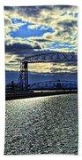 Duluth Lift Bridge Beach Towel