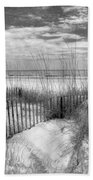 Dune Fences Beach Towel