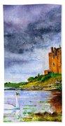 Dunguaire Castle Ireland Beach Towel