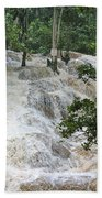Dunns River Falls 2 Beach Towel