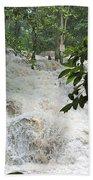 Dunns River Falls 3 Beach Towel